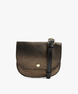 Closed Bum Hip Bag - Old Gold Matt