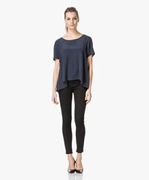 Charli Sachi Silk Shirt - Carbon