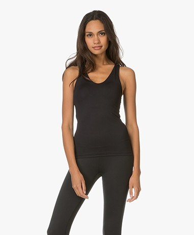 Filippa K Soft Sport Yoga Tank Top - Black