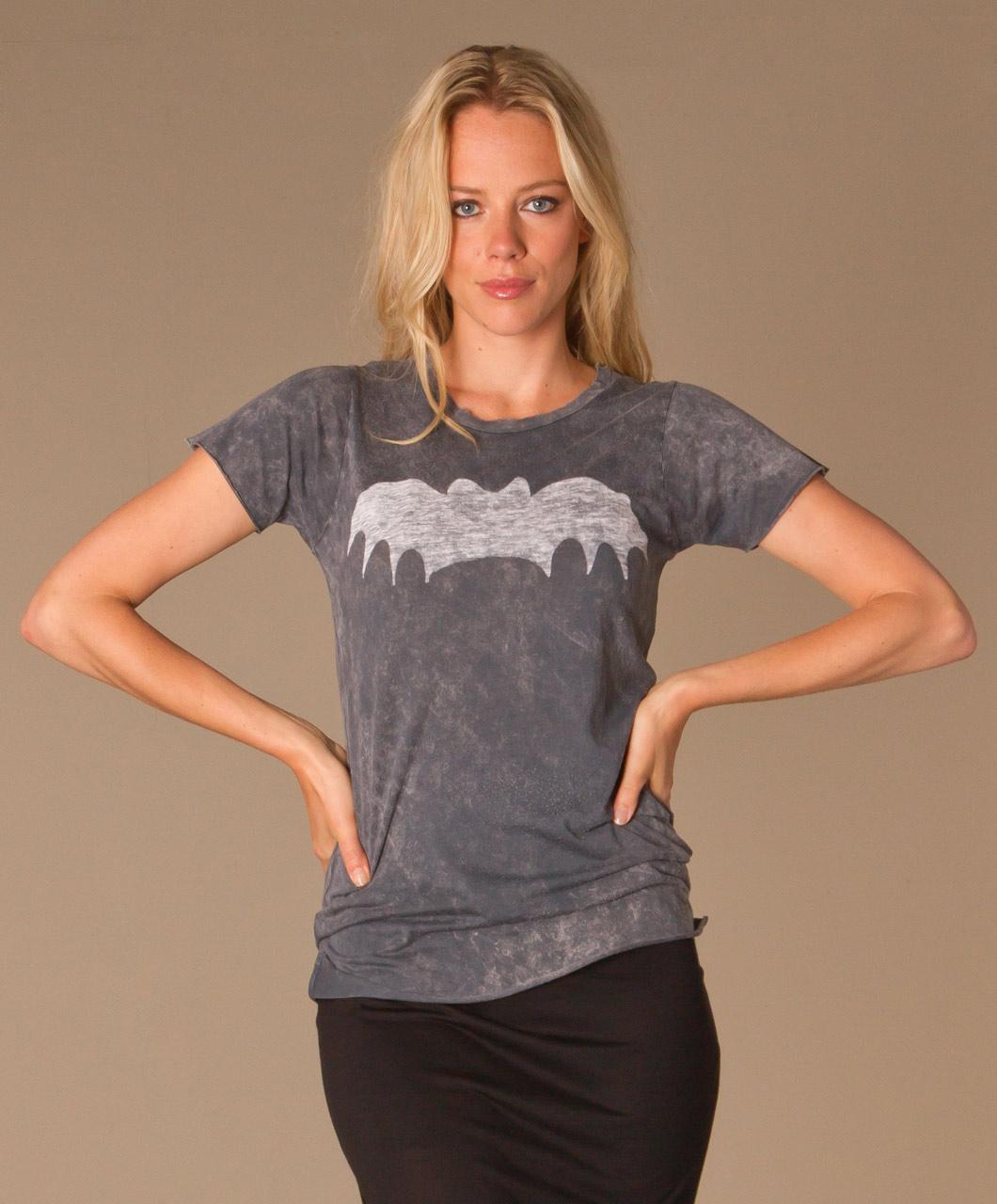Zoe Karssen Bat T Shirt Black 19