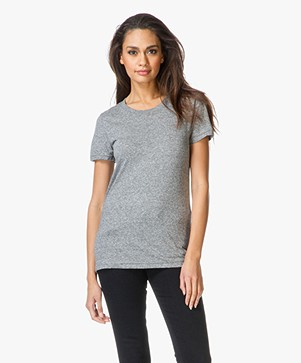 Current/Elliott The Petit T-shirt - Heather Grey