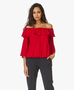 Ba&sh Off-Shoulder Top Azar