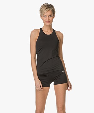 Filippa K Soft Sport Support Yoga Tanktop - Zwart