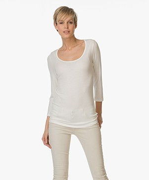 Repeat Cashmere-zijdemix Shirt