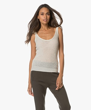 Sincerely Jules Layla Sweater Tank - Off-white