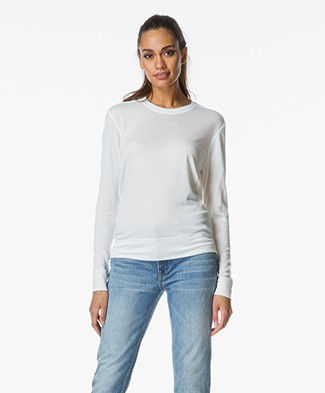 Helmut Lang Sync Jersey Top