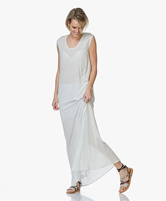 Charli Tammi Top with Draped Back - Cloud