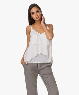 Drykorn Rina Top met Volants