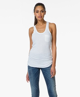 Majestic Ribbed Tank Top