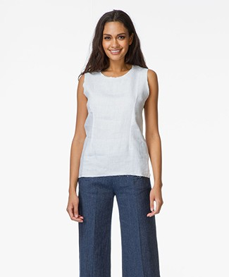 Majestic Top in Cotton and Linen