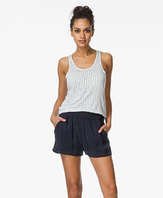 Majestic Linen Tank Top