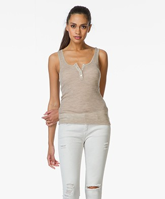 T by Alexander Wang Tank Top - Camel