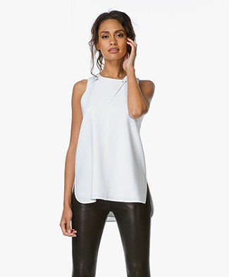 Alexander Wang A-line Tank with Stud Closure