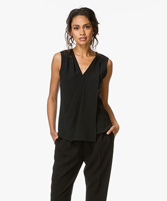 Alexander Wang Sleeveless Wrap Top