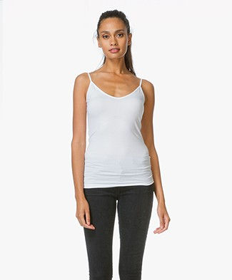 Drykorn Top Leyla with Double V-neck