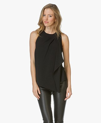 Alexander Wang Draped Top - Black