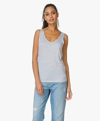 Majestic Linen and Silk Tank Top