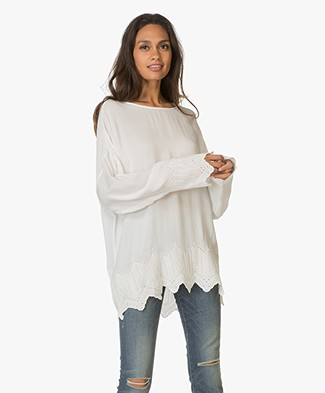 IRO Carsie Oversized Blouse - Natural