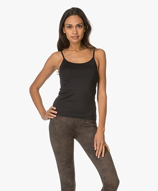 Filippa K Soft Sport Yoga Strap Top - Zwart