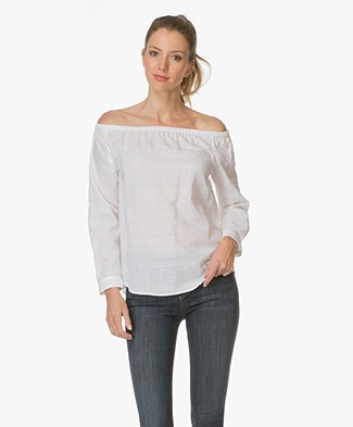 Rag & Bone Off The Shoulder Top