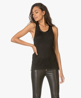 Rag & Bone Gunner Tank Top - Black