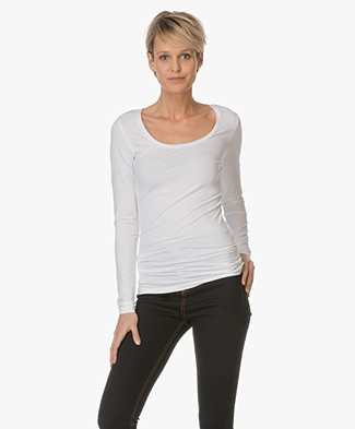 Drykorn T-shirt Selima with Round Neck