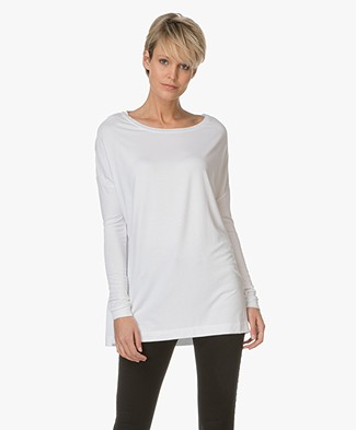 By Malene Birger Jersey Tunic Alloi - Pure White