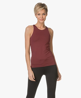 Filippa K Support Yoga Tank - Mulberry