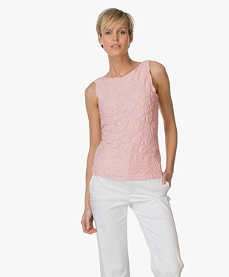 Josephine & Co Ebben Jersey Floral Top - Pink