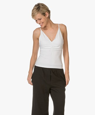 T by Alexander Wang Micro Modal Camisole - Wit