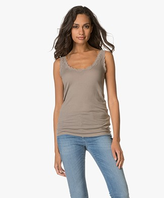 Drykorn Loona Tanktop - Taupe