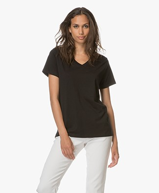 Denham Icon Relaxed T-Shirt - Cinder Black