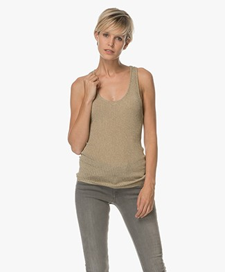 Ba&sh Debardeur Halny Tank Top - Gold