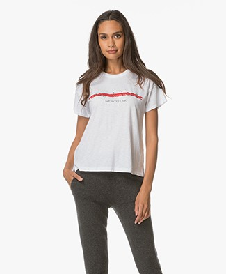 Rag & Bone / Jean Logo T-shirt - Wit