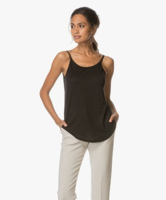 Ba&sh Alda Top with V-back - Black