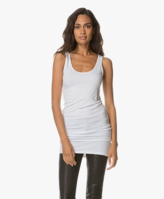 Baukjen Extra Long Tank Essential - White