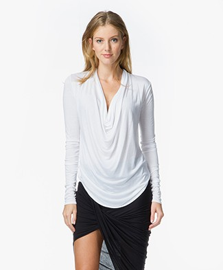 Helmut Lang Kinetic Cowl Top