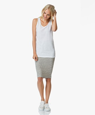 Majestic Cotton-Cashmere Tank Top