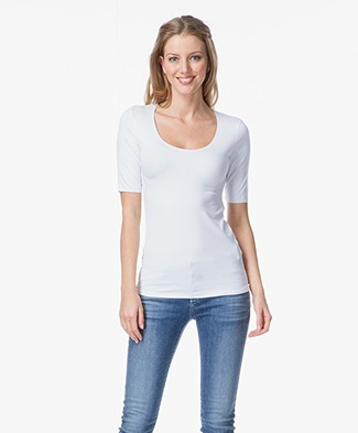 Majestic Soft Basic T-shirt