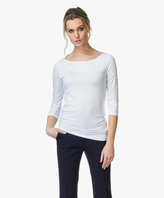 Majestic Soft Boatneck T-shirt