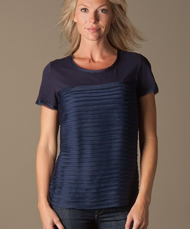 DKNY | Donna Karan New York - DKNY Volant T-shirt - Navy