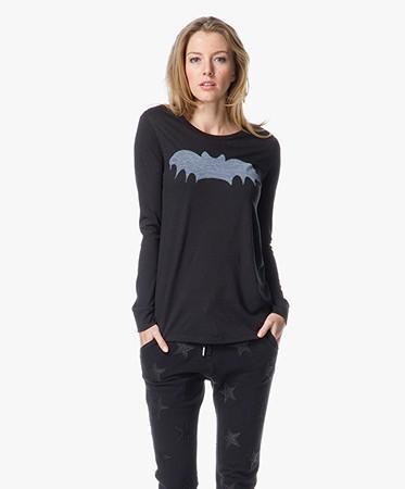 Zoe Karssen Bat T Shirt Black 100