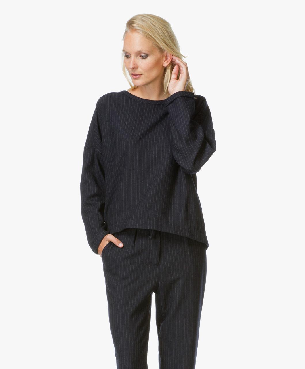 paul joe sister karmin sweater marine karmin 03 marine. Black Bedroom Furniture Sets. Home Design Ideas