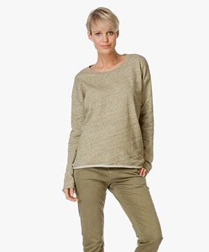 Closed Cotton Sweater Shirt - Olivesheen
