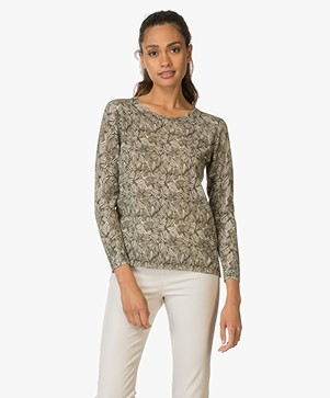 Indi & Cold Linen Blend Pull-over