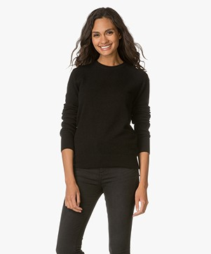 Equipment Sloane Cashmere Trui - Zwart