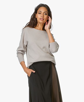 Alexander Wang Pullover met Cashmere - Truffle