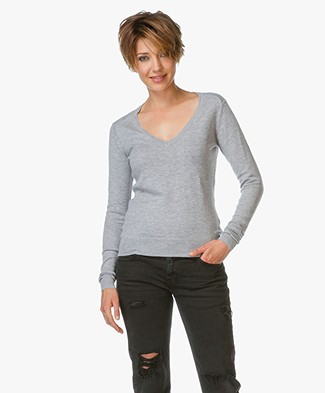 BY-BAR Lot V-hals Pullover