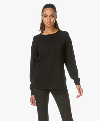 Alexander Wang Pullover with Cashmere - Black