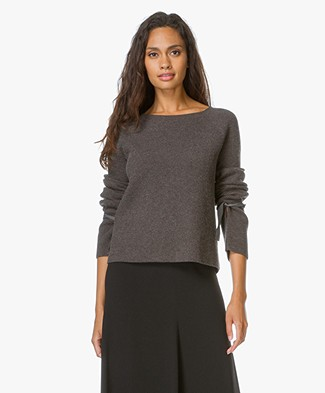 Helmut Lang Cashmere Drawstring Sweater